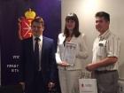 Уполномоченного по защите прав предпринимателей в Тульской области наградил студентов