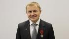 Президенту «ОПОРЫ РОССИИ» Александру Калинину вручена высокая государственная награда
